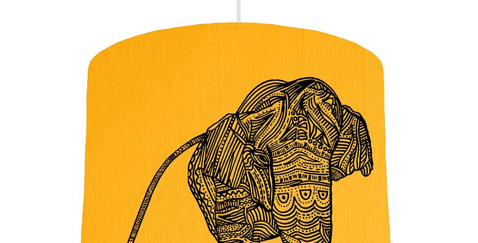 Elephant Shade - Sunshine Fabric