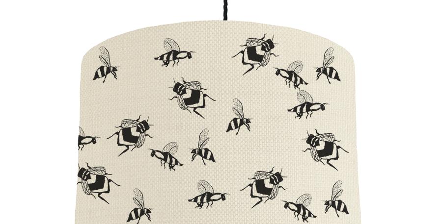 Bee - Natural & Dark Grey Lining