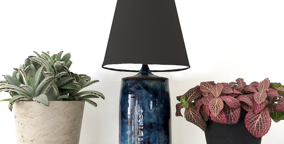 Conical Lampshade (10Tx15Bx20H) - White lining