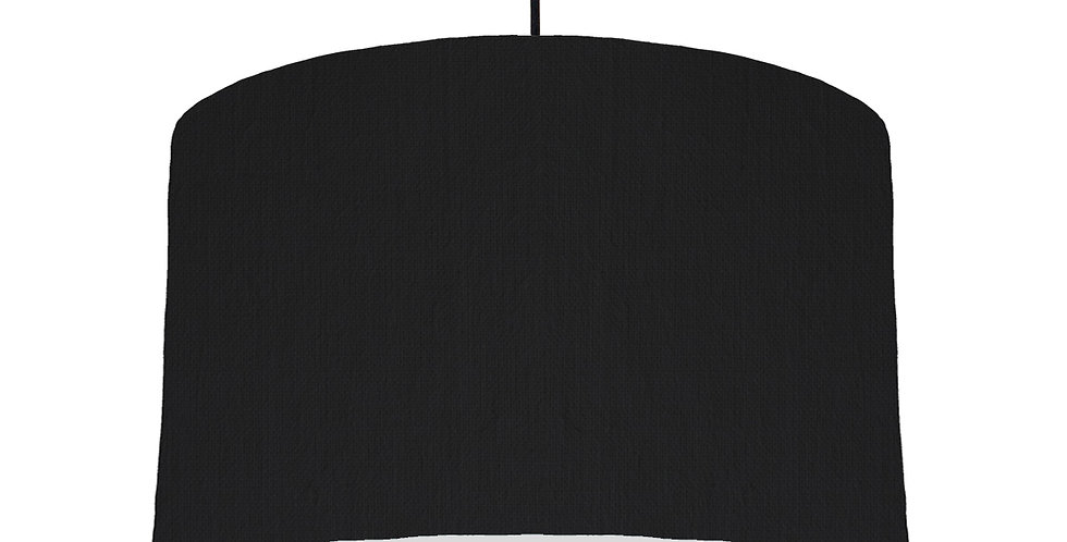Black & Light Grey Lampshade - 40cm Wide