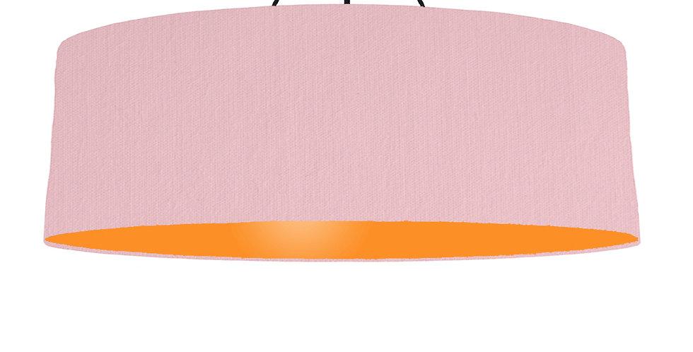 Pink & Orange Lampshade - 100cm Wide