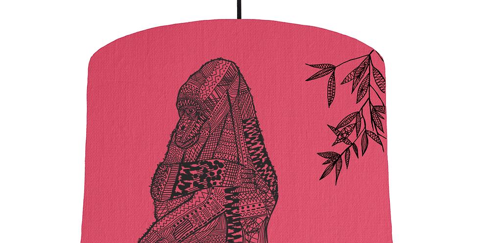 Gorilla - Cerise Fabric