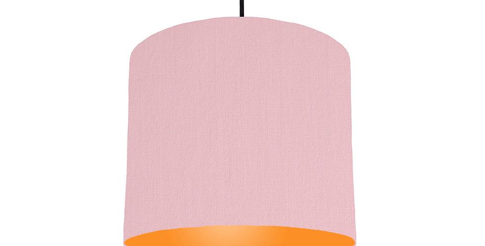 Pink & Orange Lampshade - 25cm Wide