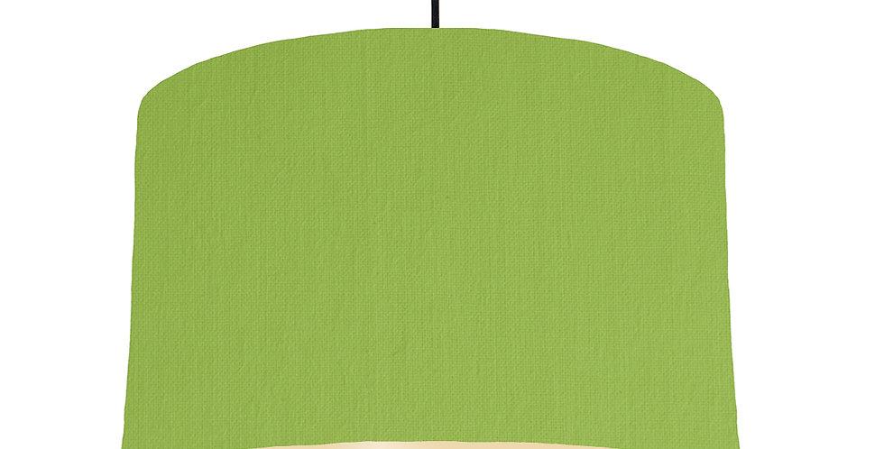 Pistachio & Ivory Lampshade - 40cm Wide