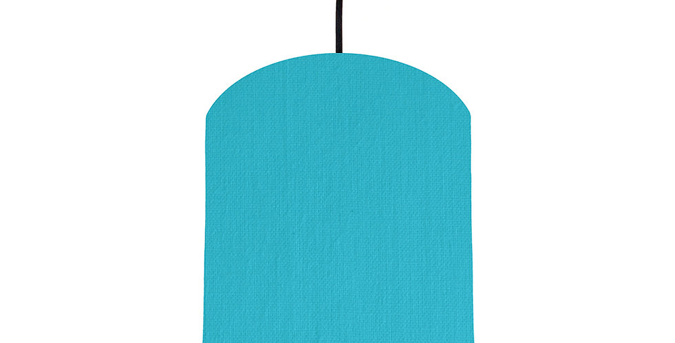 Turquoise & Light Blue Lampshade - 20cm Wide