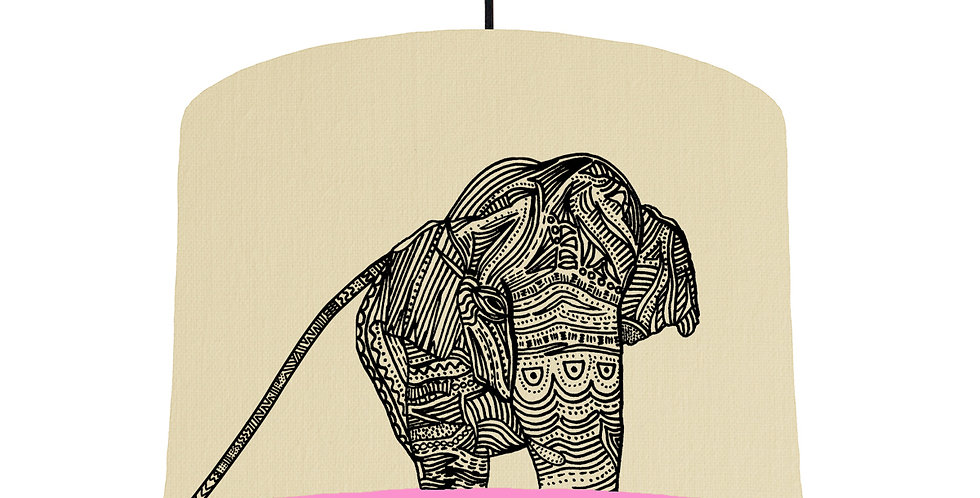 Elephant - Natural & Pink Lining