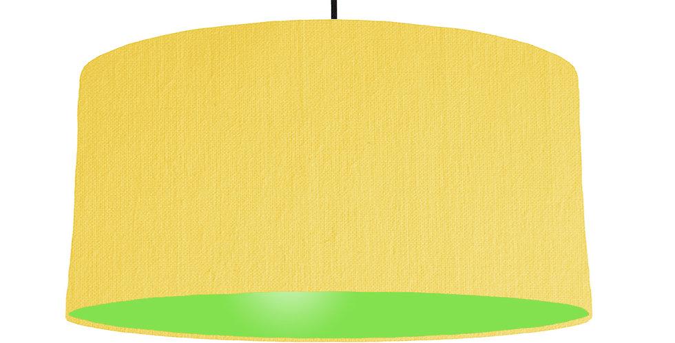 Lemon & Lime Green Lampshade - 60cm Wide