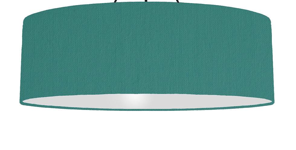 Jade & Light Grey Lampshade - 100cm Wide