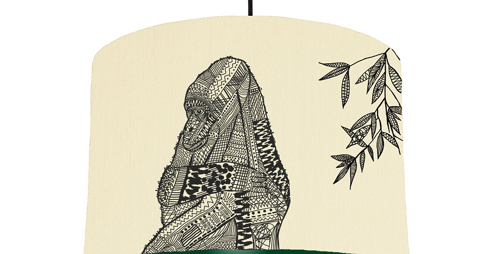 Gorilla - Natural & Forest Green