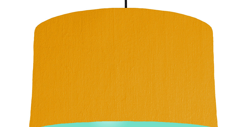 Mustard & Mint Lampshade - 50cm Wide