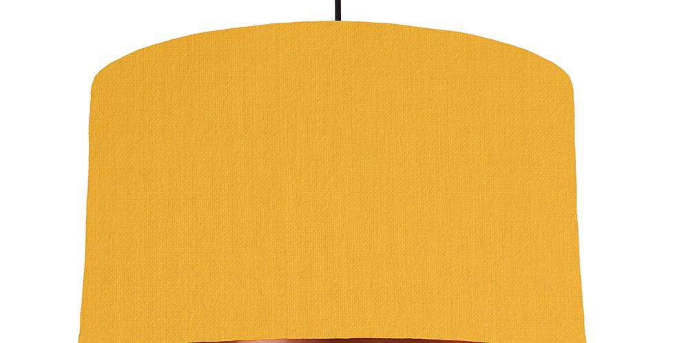 Sunshine & Copper Mirrored Lampshade - 50cm Wide