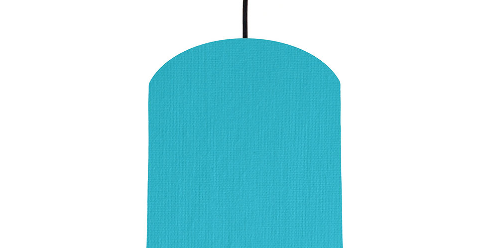 Turquoise & Bright Blue Lampshade - 20cm Wide