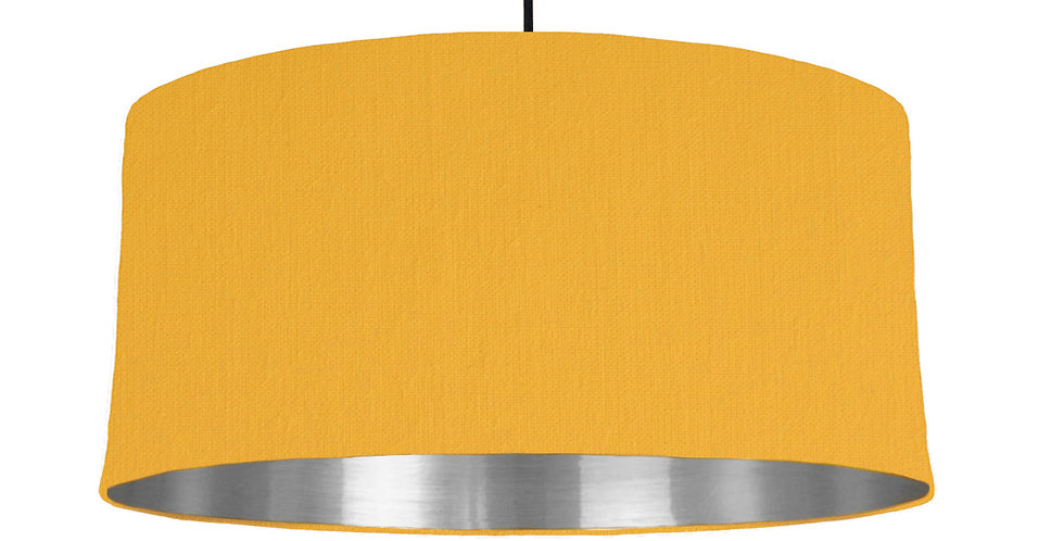Sunshine & Silver Mirrored Lampshade - 60cm Wide