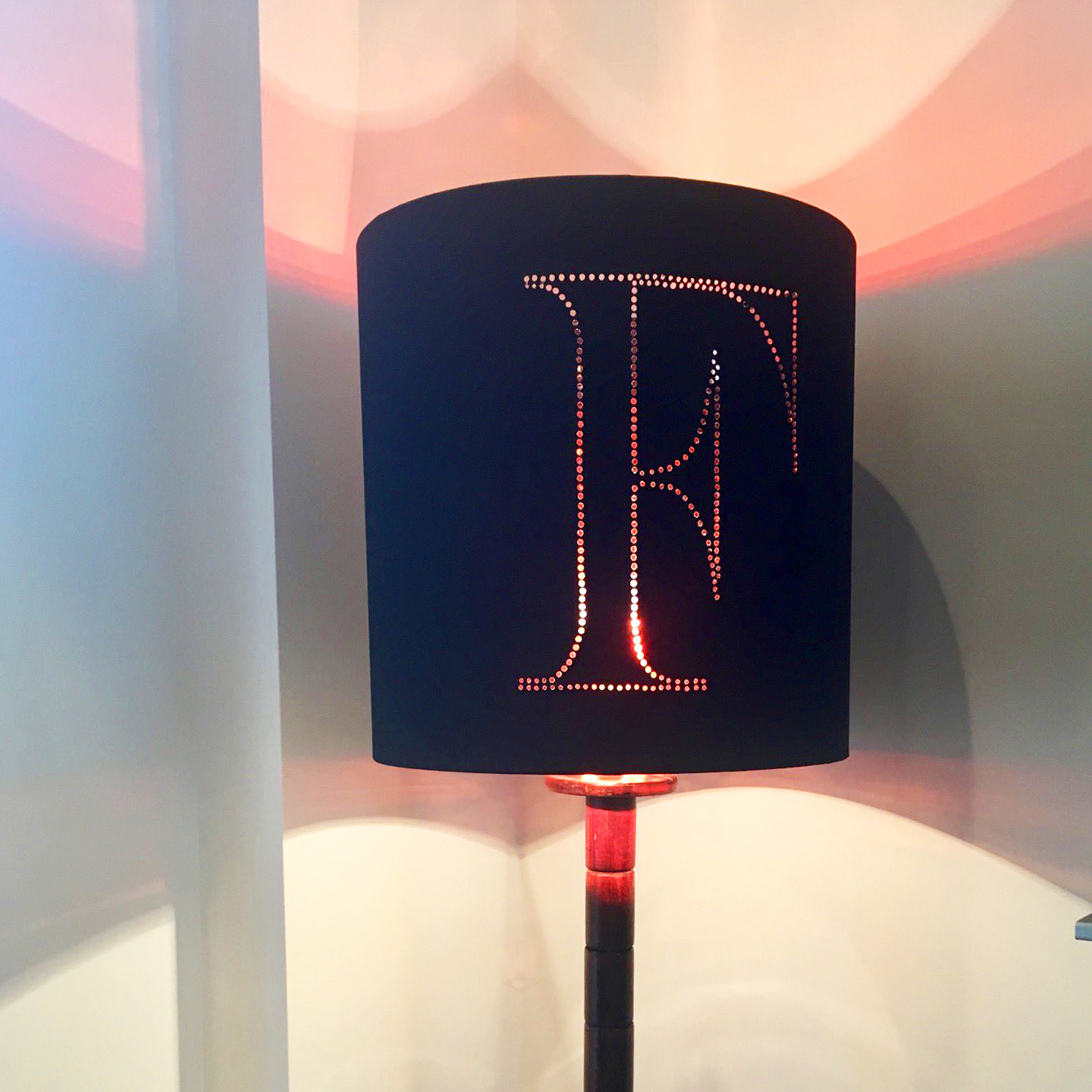 Personalised lampshade