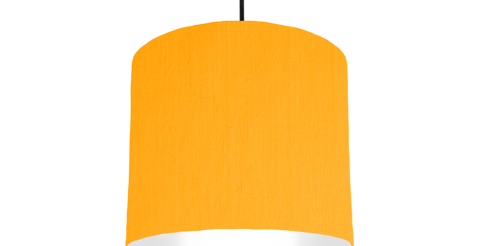 Sunshine & White Lampshade - 25cm Wide