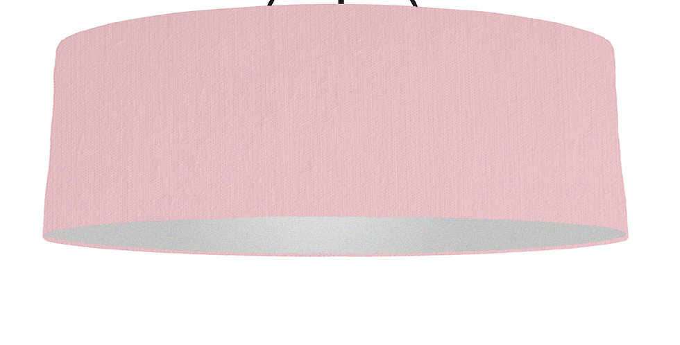 Pink & Silver Matt Lampshade - 100cm Wide