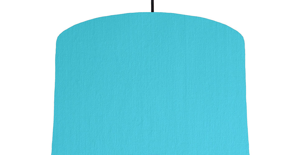 Turquoise & Bright Blue Lampshade - 30cm Wide