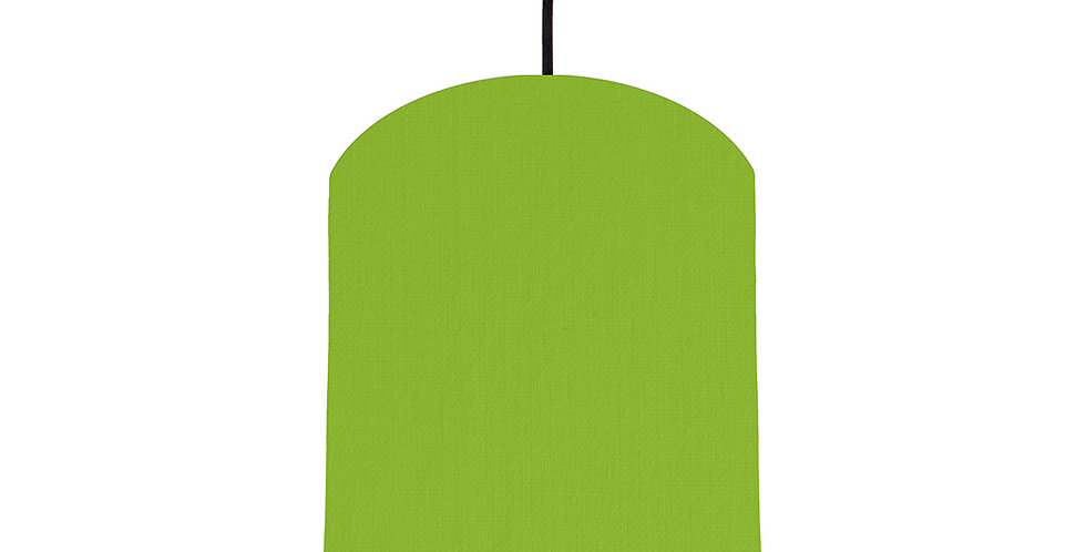 Pistachio & Butter Yellow Lampshade - 20cm Wide
