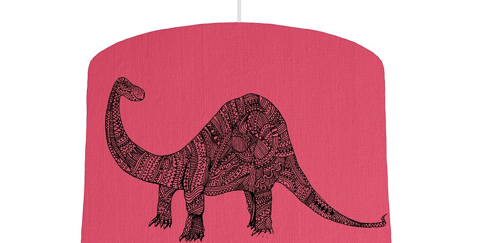 Dinosaur Shade - Cerise Fabric