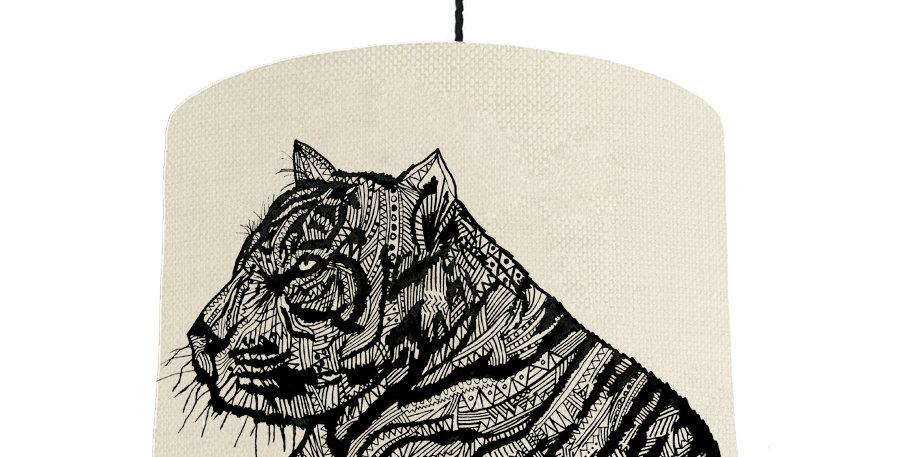 Tiger - Natural & Dark Grey Lining