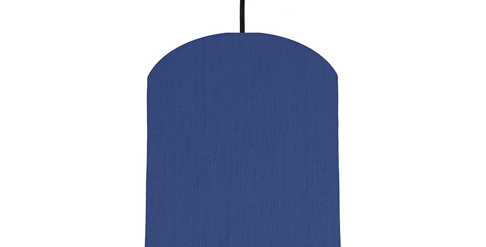Royal Blue & Bright Blue Lampshade - 20cm Wide
