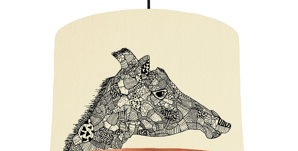 Giraffe - Natural & Brushed Copper