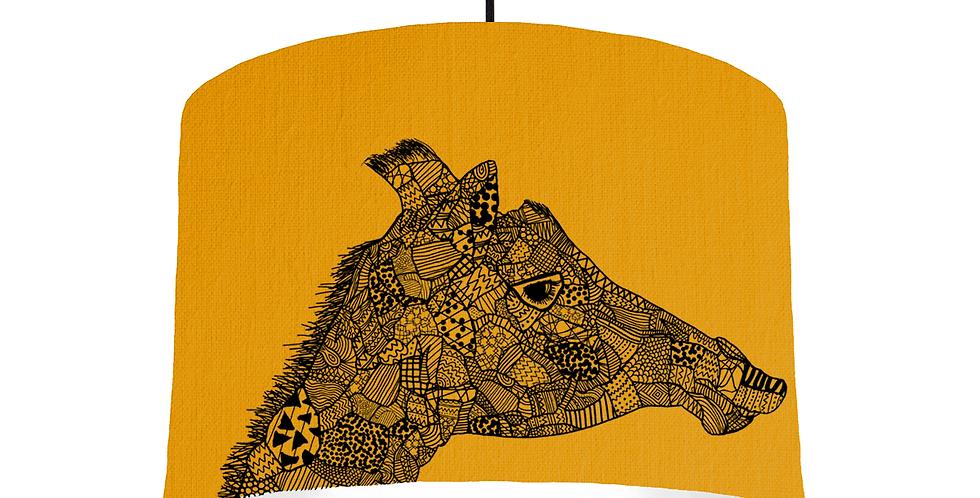 Giraffe - Mustard Fabric