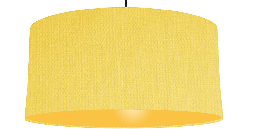Lemon & Butter Yellow Lampshade - 60cm Wide