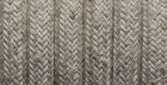 Linen - Industville Round Fabric Cable