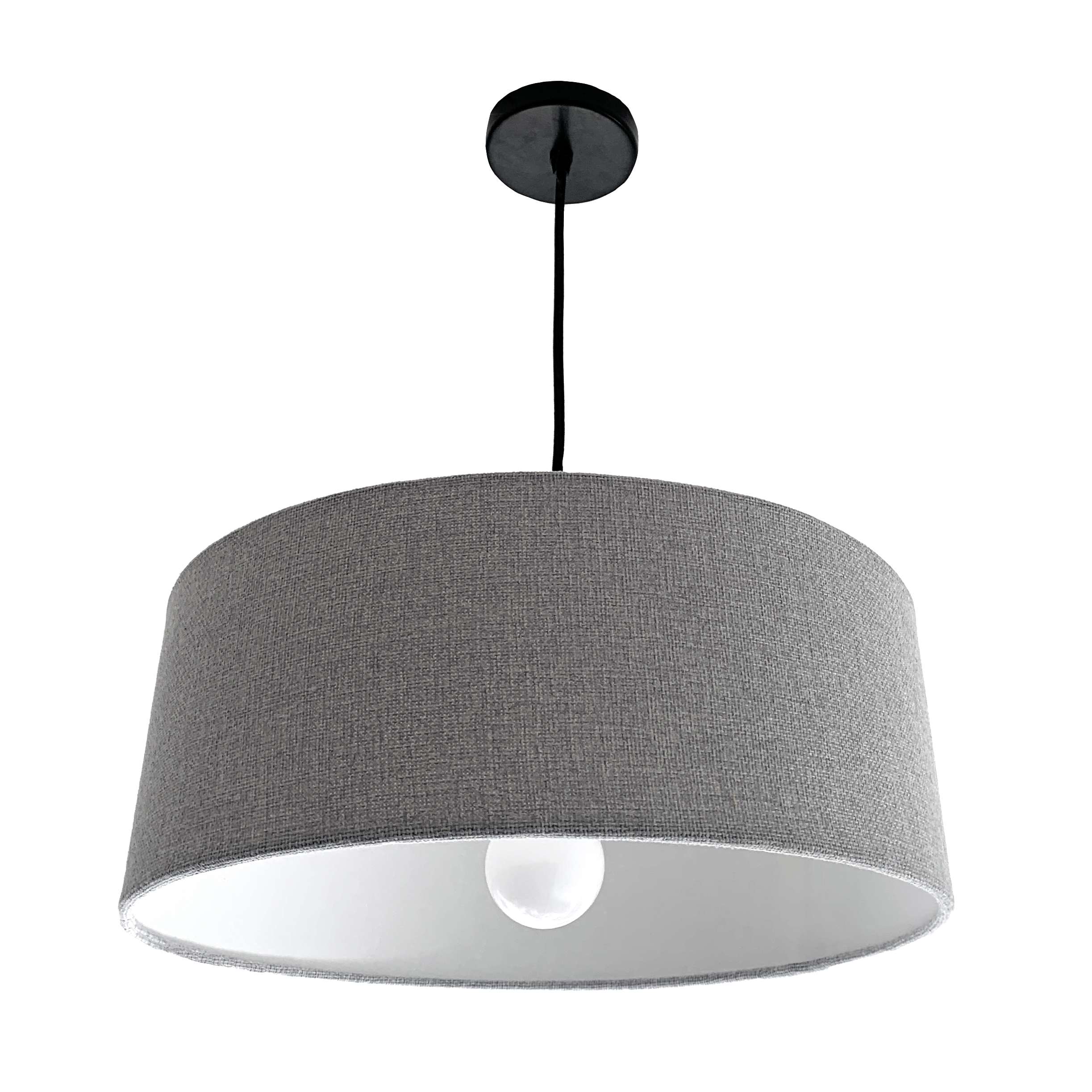 Grey Lampshade