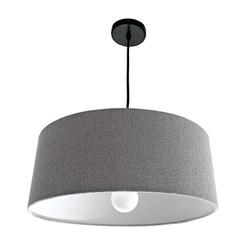 Grey Lampshade