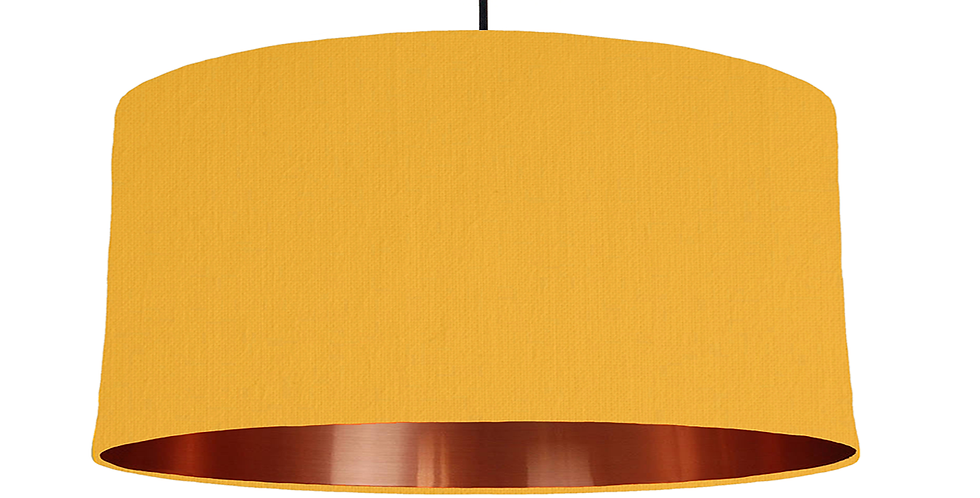Sunshine & Copper Mirrored Lampshade - 60cm Wide