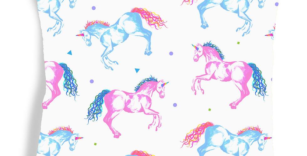 Unicorn Velvet Cushion