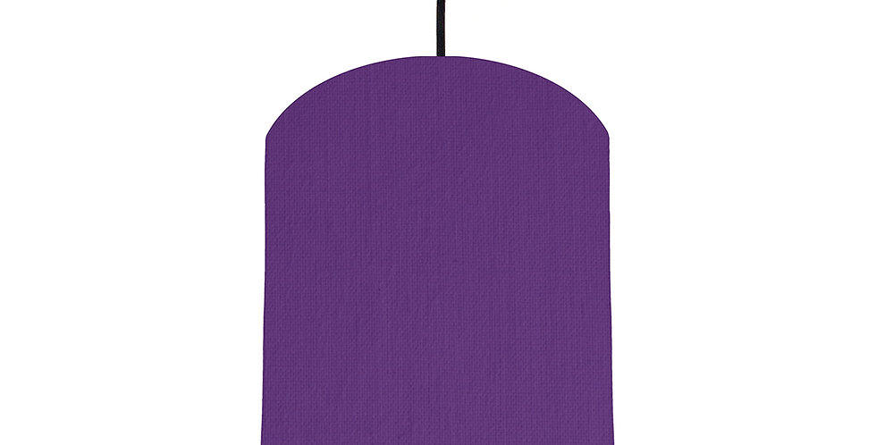 Violet & Poppy Red Lampshade - 20cm Wide