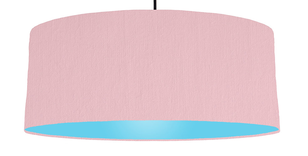 Pink & Light Blue Lampshade - 70cm Wide