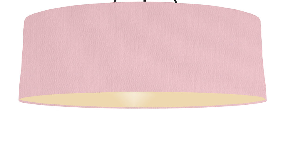 Pink & Ivory Lampshade - 100cm Wide