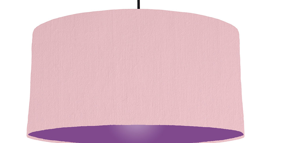 Pink & Purple Lampshade - 60cm Wide