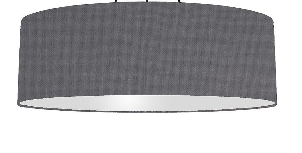 Dark Grey & Light Grey Lampshade - 100cm Wide