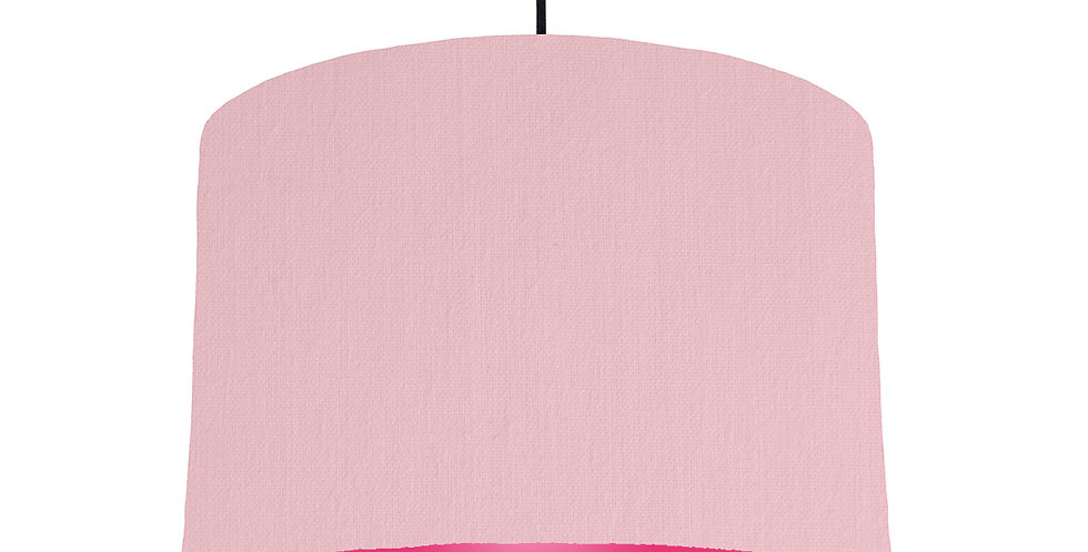 Pink & Magenta Lampshade - 30cm Wide