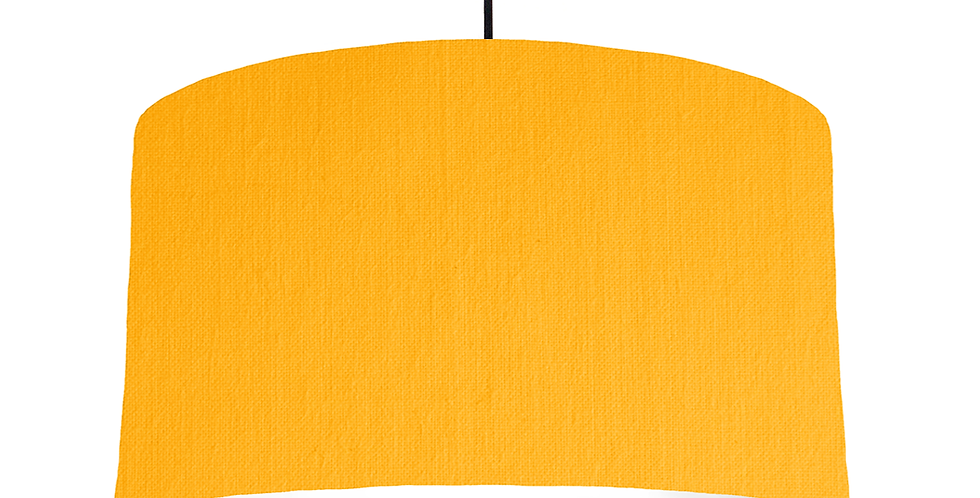 Sunshine & White Lampshade - 50cm Wide