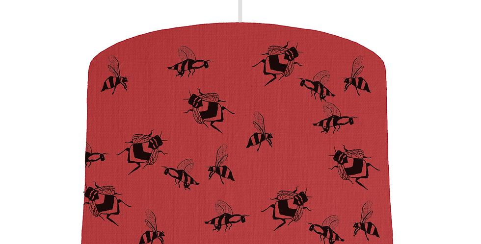 Bee Shade - Red Fabric