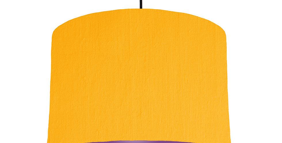 Sunshine & Purple Lampshade - 30cm Wide