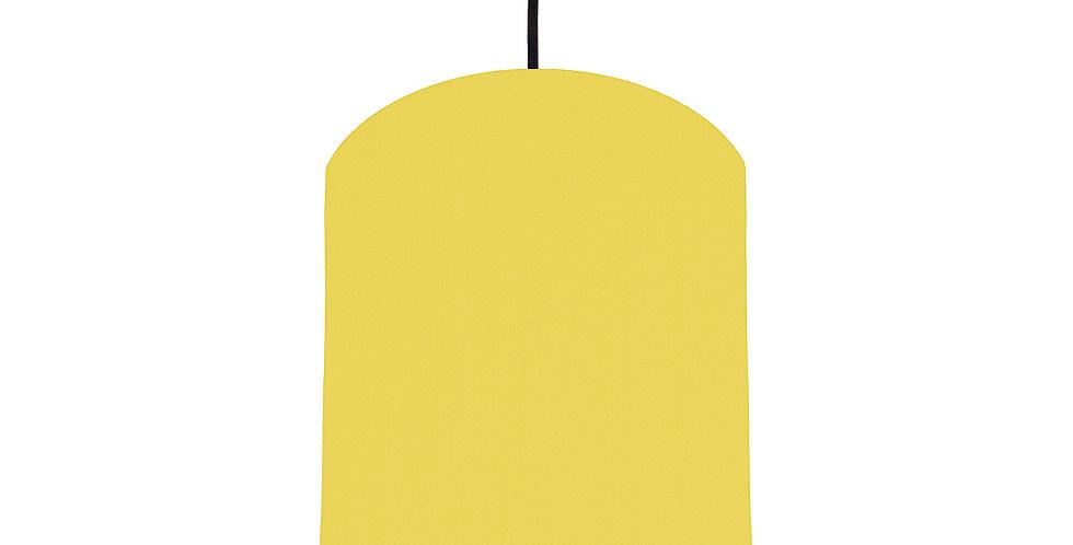 Lemon & Light Blue Lampshade - 20cm Wide