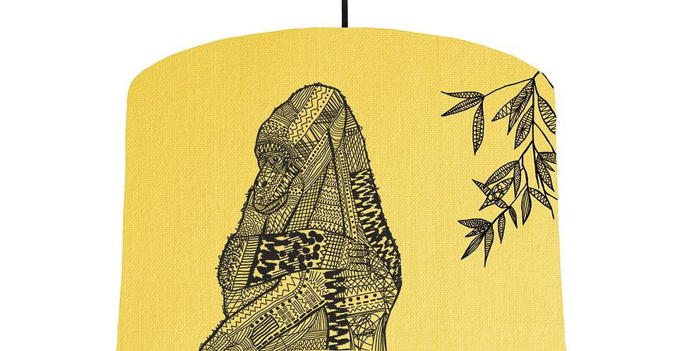 Gorilla - Lemon Yellow Fabric