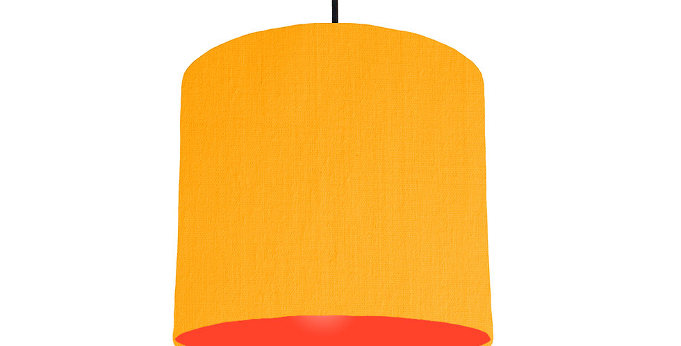 Sunshine & Poppy Red Lampshade - 25cm Wide