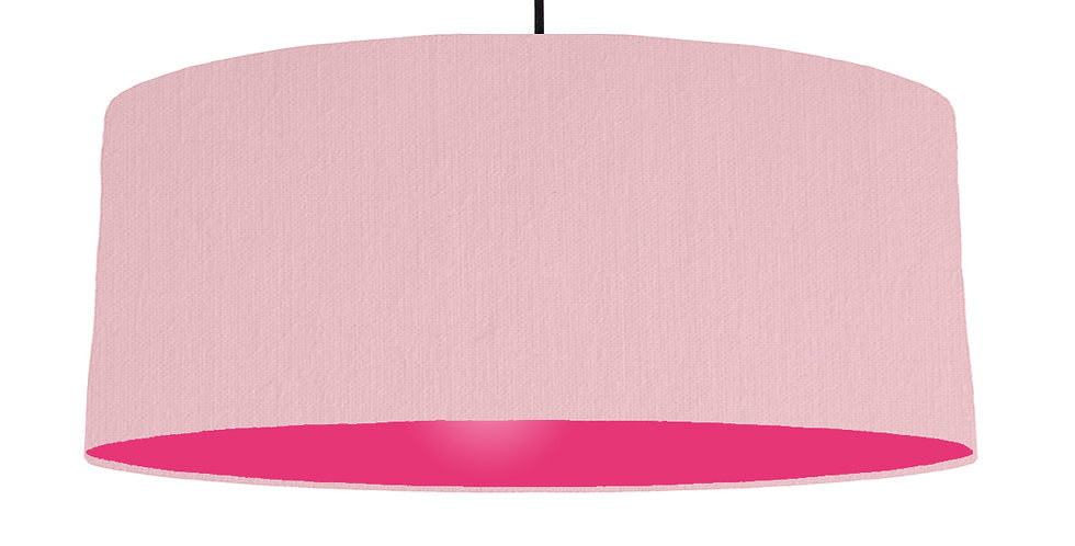 Pink & Magenta Lampshade - 70cm Wide