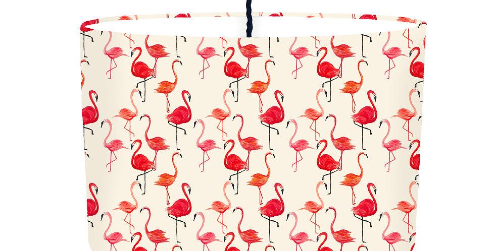 Flamingo Lampshade - White Lining