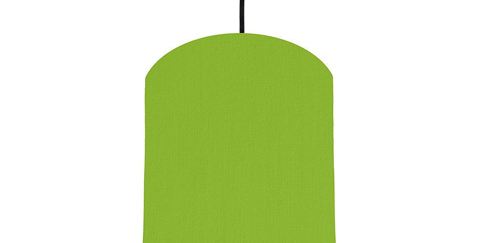 Pistachio & Navy Lampshade - 20cm Wide