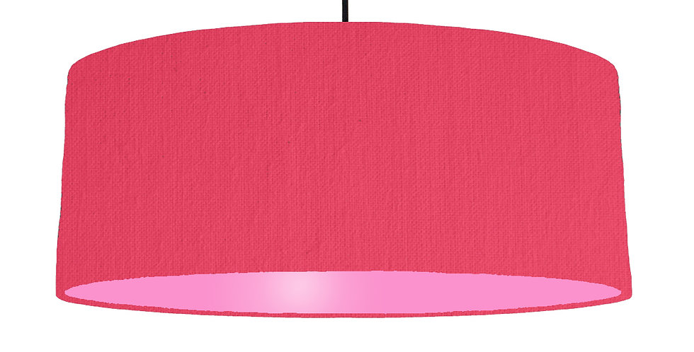Cerise & Pink Lampshade - 70cm Wide
