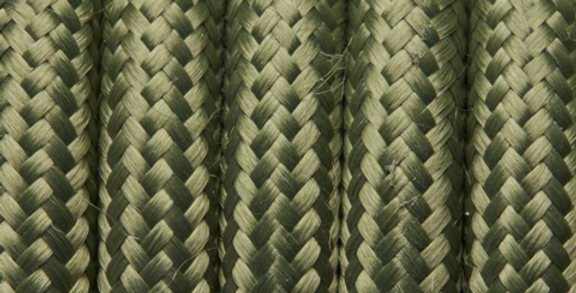 Sage - Industville Round Fabric Cable